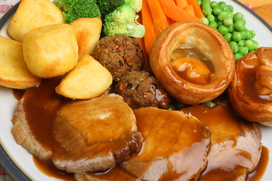 Roast beef with yorkshire pudding serious eats share the knownledge