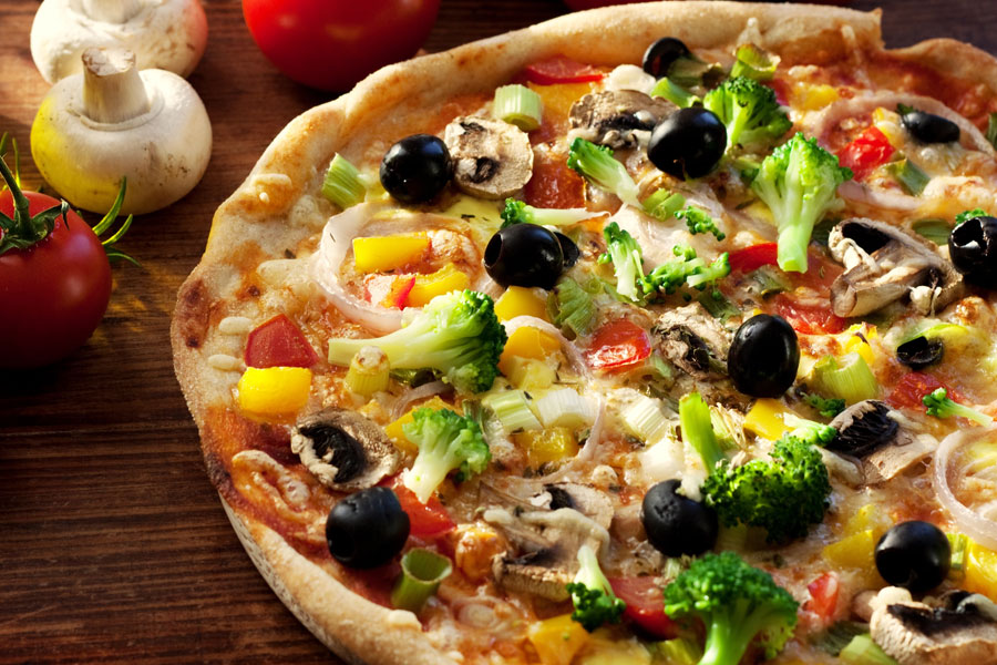 Very Very Vegetable Pizza Recipes — Dishmaps