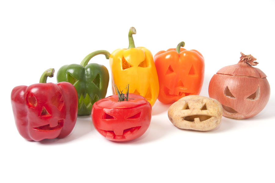 Halloween-Vegetables