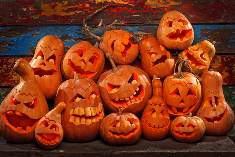 Scary-Pumpkins-for-Halloween