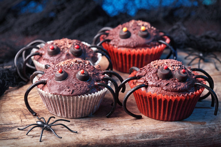 Spider-Cupcakes-For-Halloween