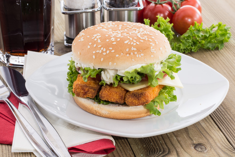 National burger day 2015 smart restaurants for Fish burger near me