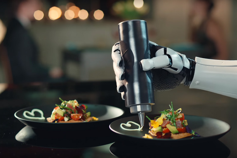 the robot chef to start cooking in kitchens smart restaurants. Black Bedroom Furniture Sets. Home Design Ideas