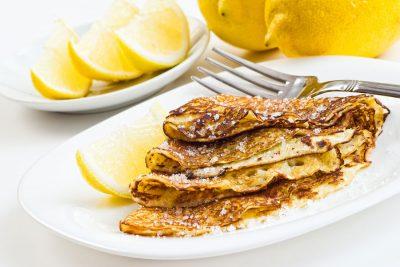 lemon.pancakes.sugar.fork