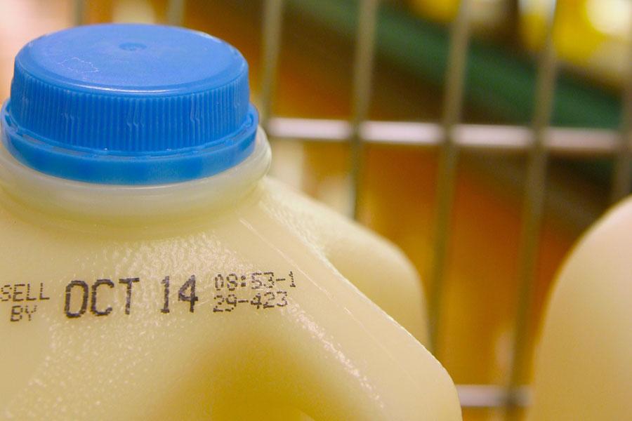 Dating milk bottles