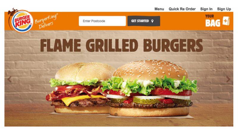 burger king entry mode