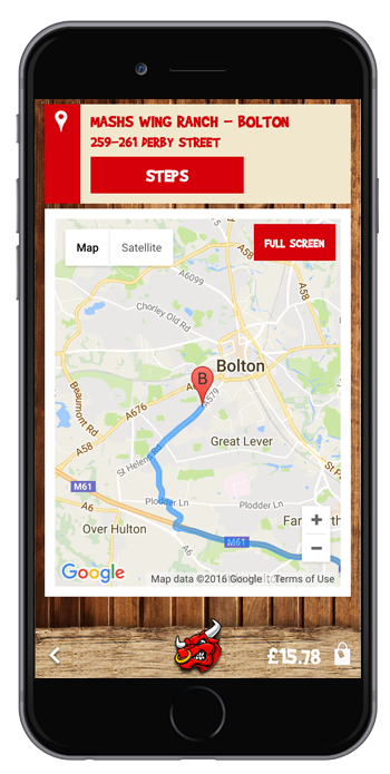 Restaurant Location App