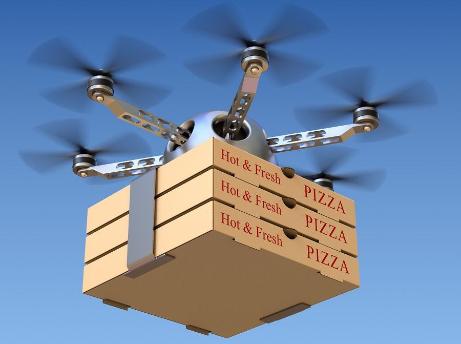 Pizza-Drone