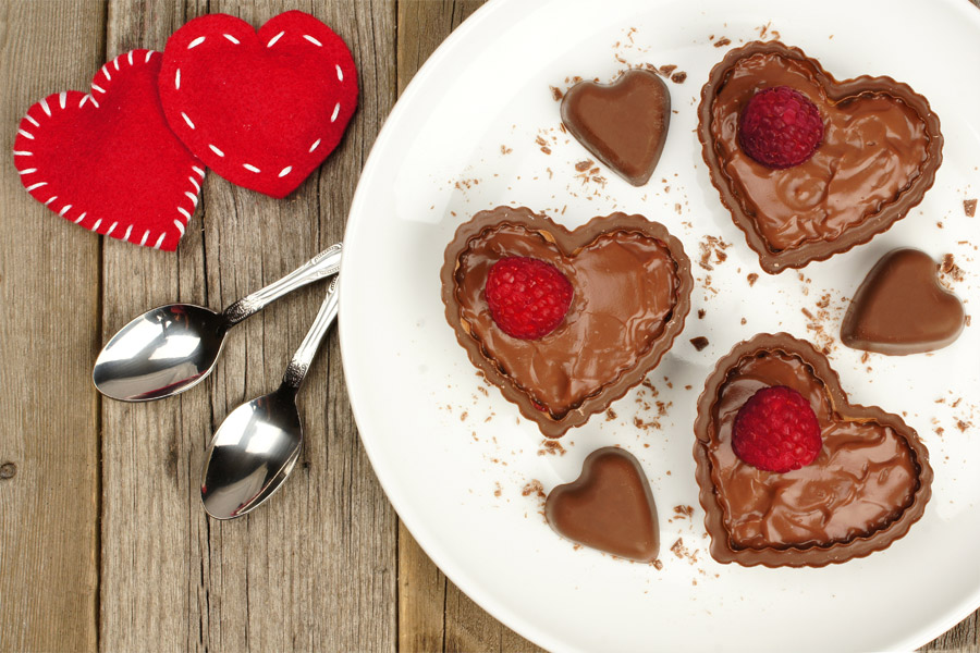 heart-shaped-chocolate-pudding