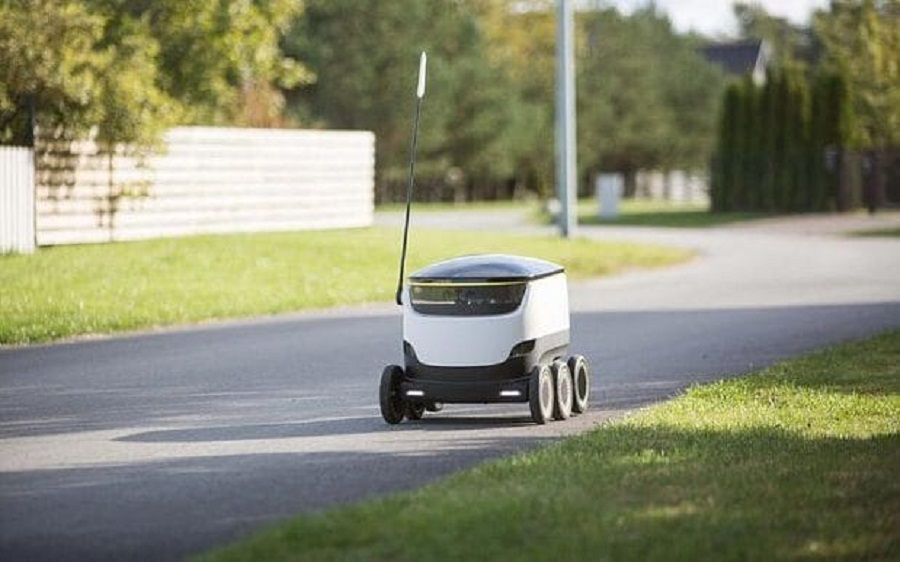Takeaway-Delivery-Robot