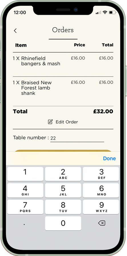order-to-table-app